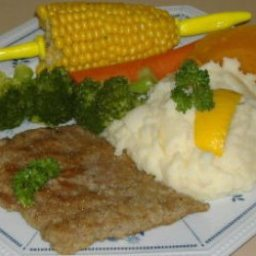 Weiner Schnitzel, Veal Cutlettes With Lemon