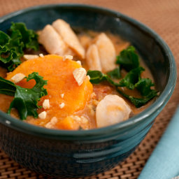 West African Peanut Soup With Chicken