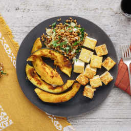 Wheat Berries (from Plated, with Lemony tofu / squash)