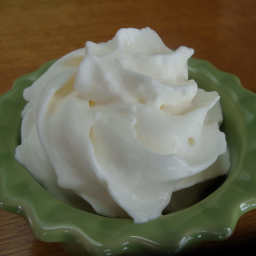 Whipped Kefir Topping