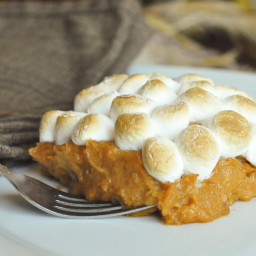 Whipped Sweet Potato Casserole