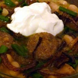 White Bean and Italian Sausage Chili