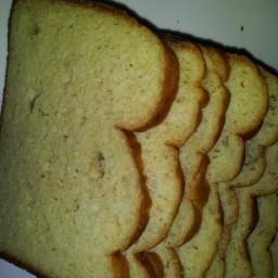White Bread (Bread Machine, Gluten-free, Sugar-free)