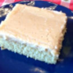 White Chocolate Sour Cream Cake