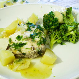 Whitefish with Celery