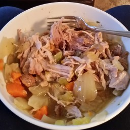 White Wine-braised Pork