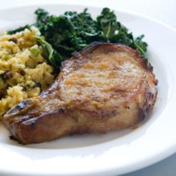 Whole Foods Orange-Ginger Glazed Pork Chops