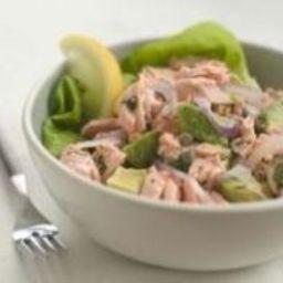 Wild Alaskan Salmon and Avocado Salad