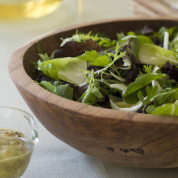 Winter Salad with Toasted Mustard Seed Vinaigrette