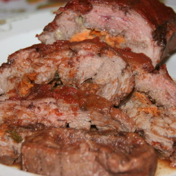 Yankee Pot-Roasted Steak Roll
