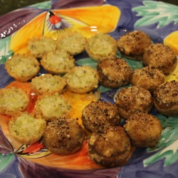 YUMMY Stuffed Mushrooms