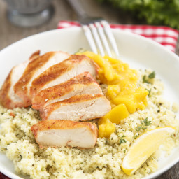 Zippy Pineapple Baked Chicken Breasts