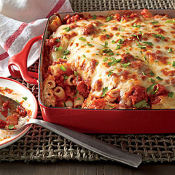 Ziti and Sausage Bake