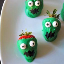 Zombie Chocolate Covered Strawberries