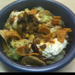 Zoot's Chicago Bears Tackle (Taco) Salad