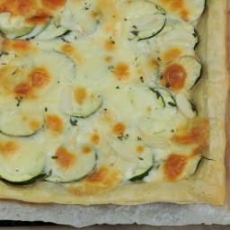 Zucchini and Thyme Tart