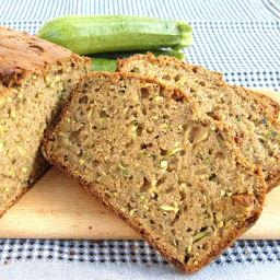 Zucchini Whole Wheat Loaf