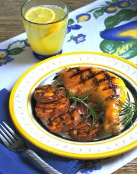 how to make an orange glaze for chicken