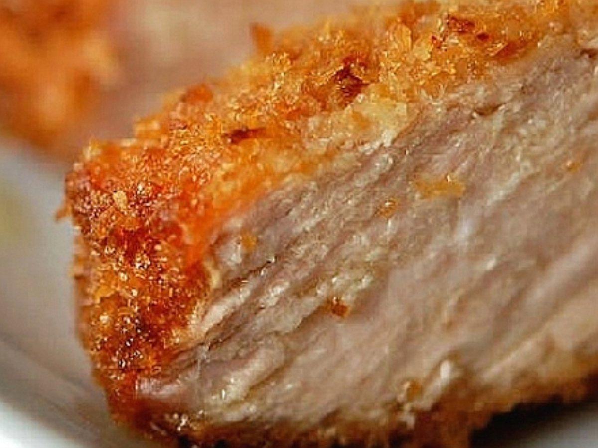 ... - Steaks and Chops Pork Chops Garlic - Parmesan Crusted Pork Chops