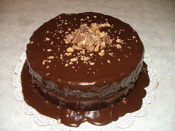 Peanut Butter Fudge Cake - BigOven