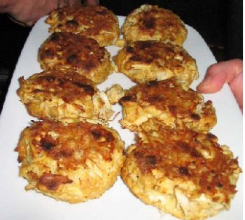 Dungeness Crab Cakes Calories