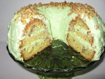 Pistachio Nut Cake From Angelett - BigOven