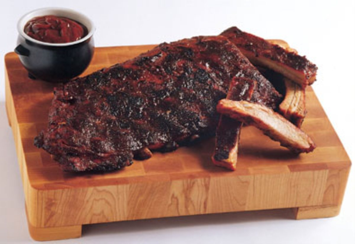 ... Course Main Dish Ribs Kansas City-Style Ribs w/ Spicy Apple BBQ Sauce