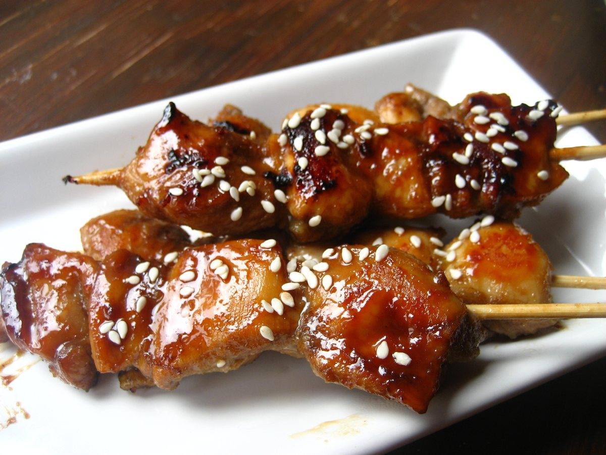 berry sauce recipes dishmaps rosemary chicken skewers with berry sauce ...
