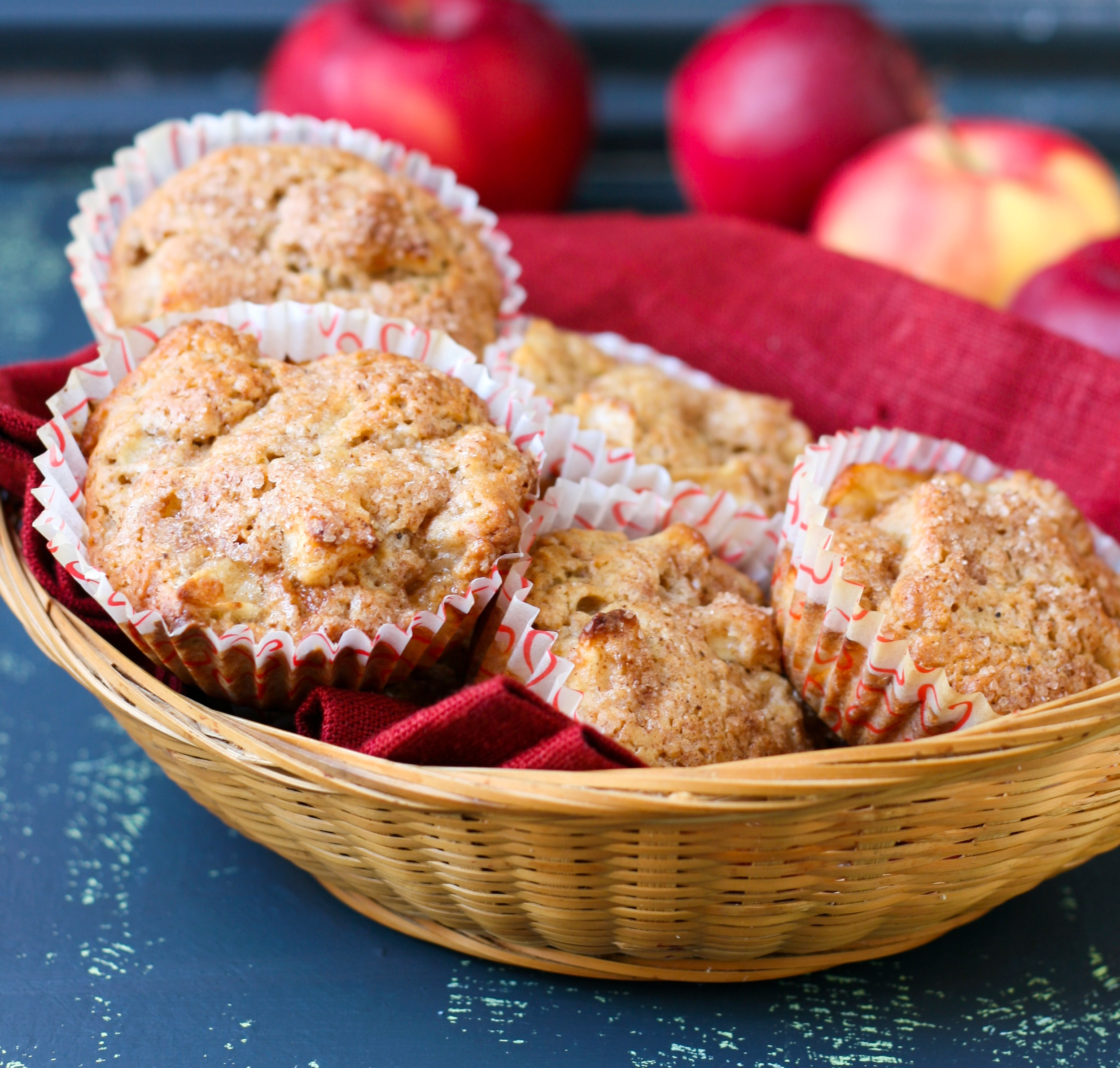 Apple Strudel Muffins - BigOven