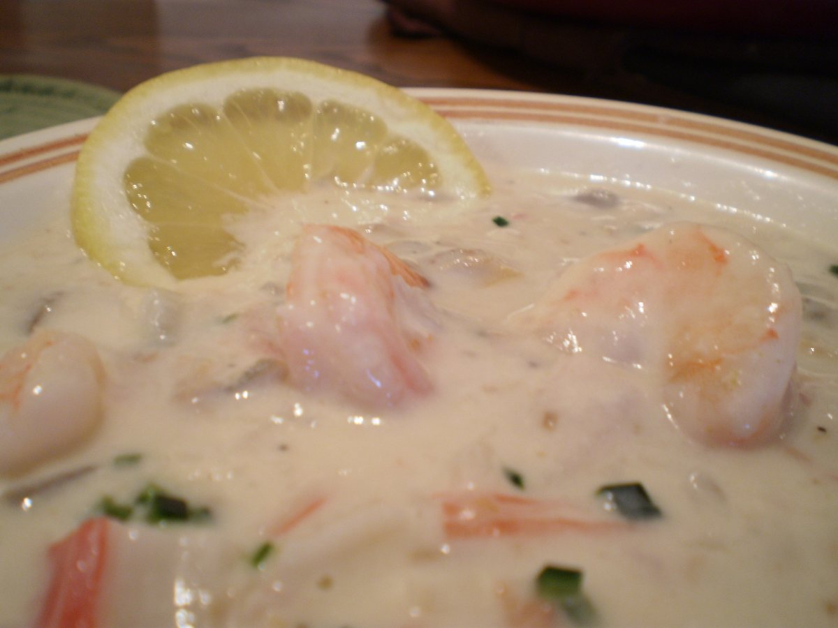 ... By Course Soups, Stews and Chili Chowders Seafood Chowder-By Renette