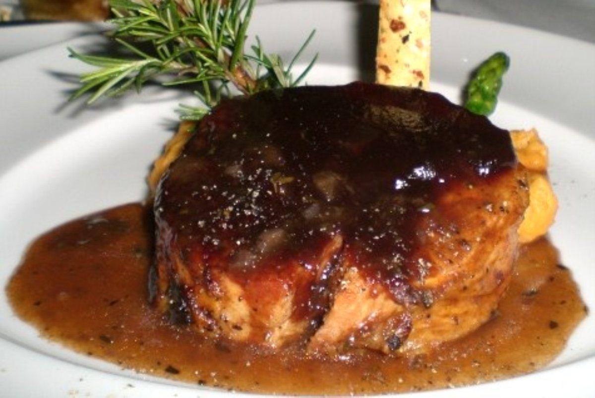 ... Dish Main Dish - Other Pork Tenderloin with Balsamic Cranberry Sauce
