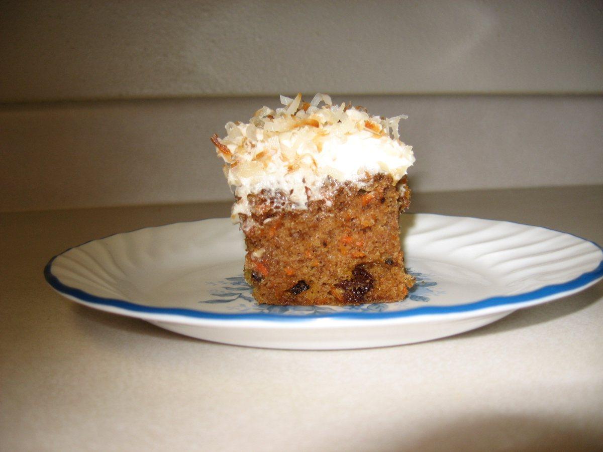Low Sodium Carrot Cake Recipe