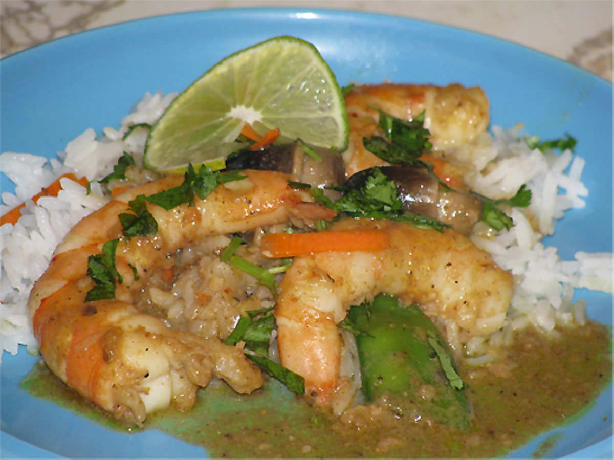 Ray's Thai Coconut Curry Shrimp