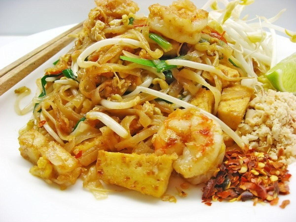 Thai Fried Noodles Pad Thai