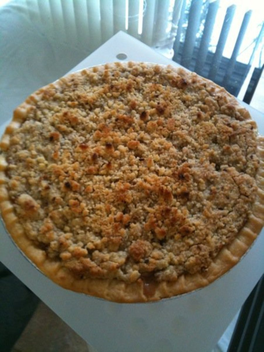 Recipes Course Desserts Pies Cinnamon Apple Crumb Pie