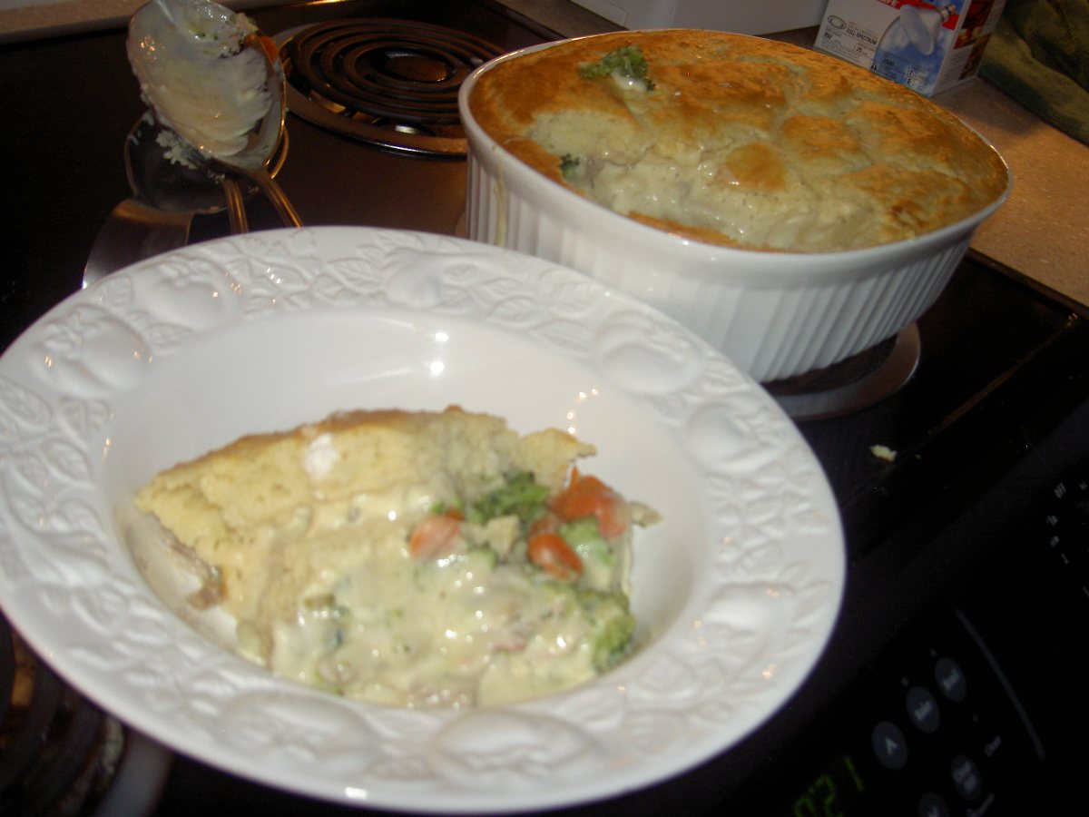 Bisquick Turkey Pot Pie