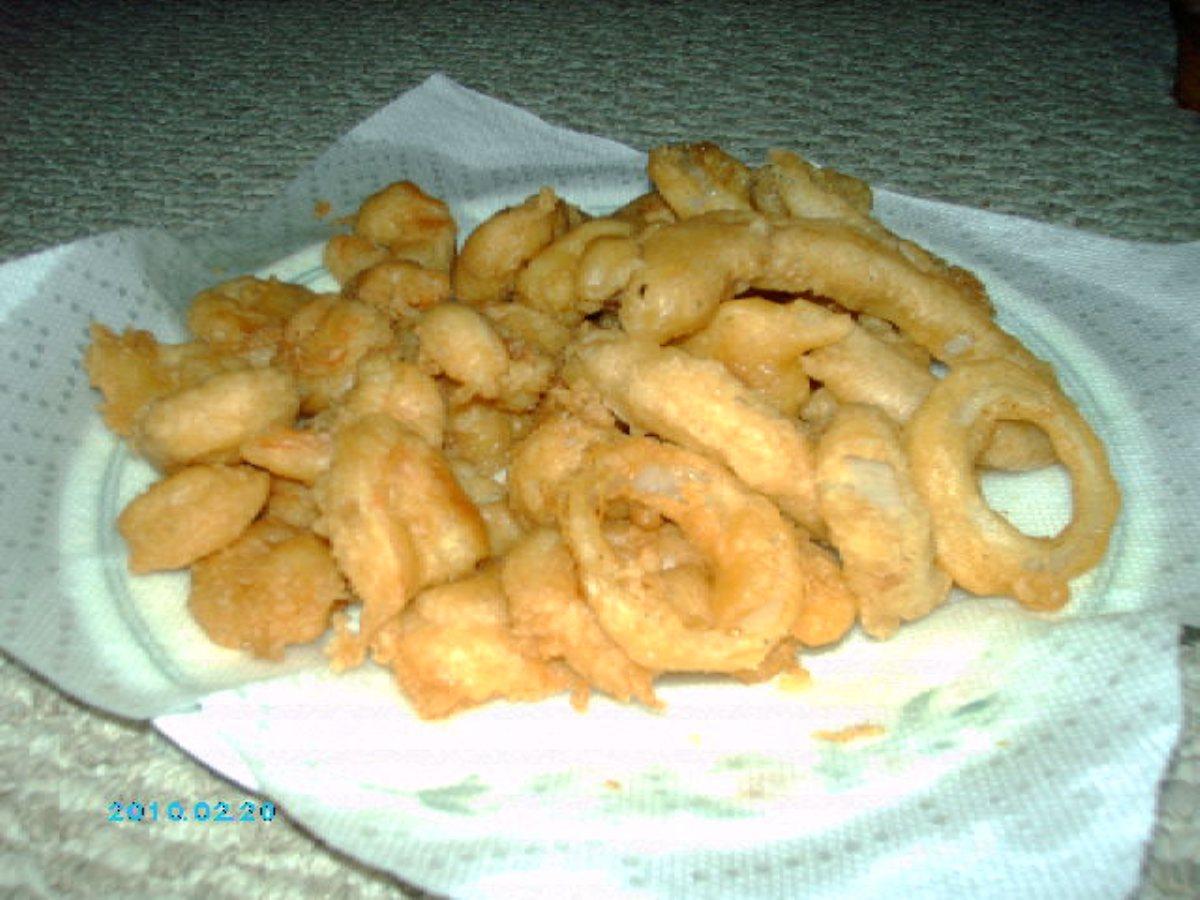 Carey 39 s beer batter for fish shrimp onion rings for Batter for fish