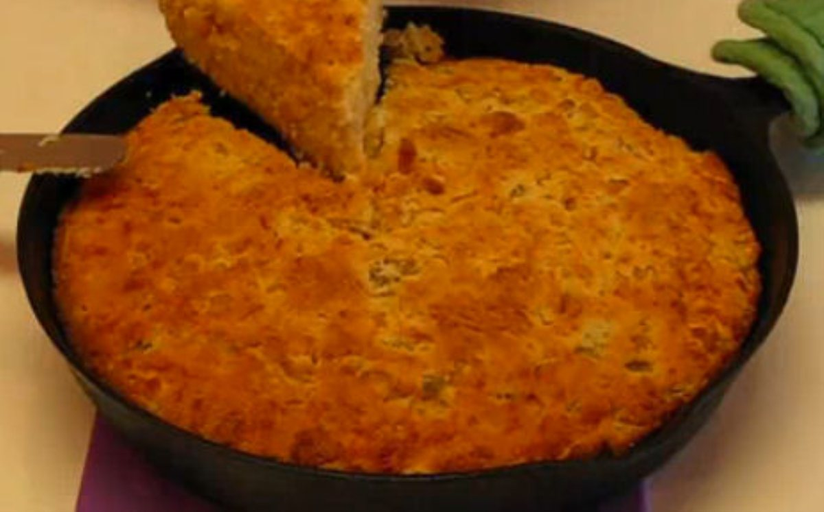 Recipes By Course Skillet Mexican Cornbread