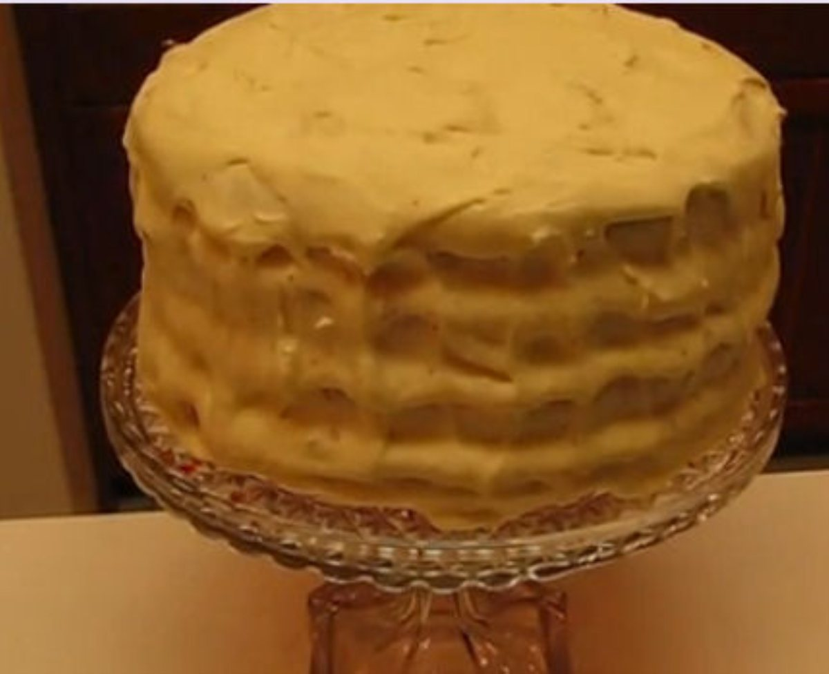 Cake With Cream Cheese Frosting Refrigerate