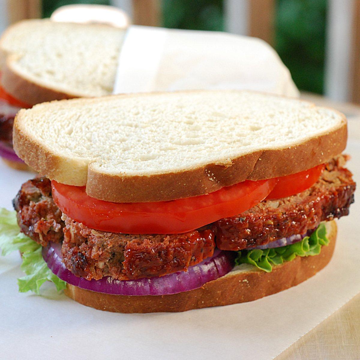 Underground Deli Meatloaf Sandwich - BigOven
