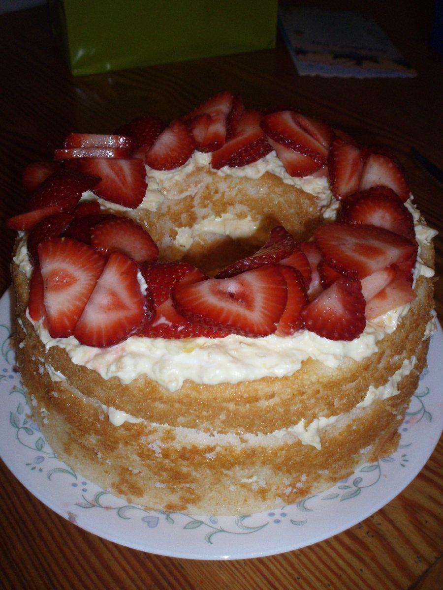 Crushed Pineapple Angel Food Cake Cool Whip
