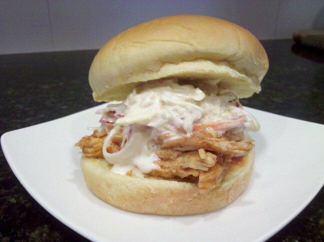 Barbecue Chicken Sandwiches With Cole Slaw Recipes — Dishmaps