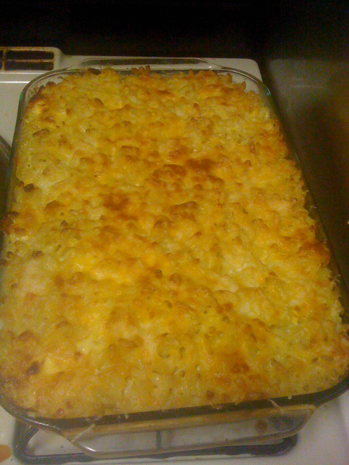 Four Cheese Baked Macaroni And Cheese - BigOven