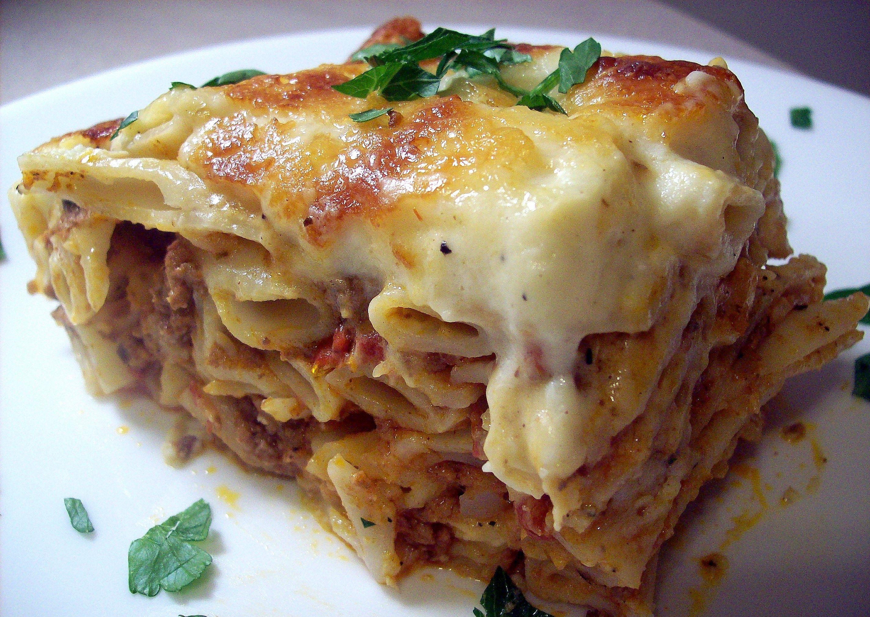 Greek Food Pastichio Recipe