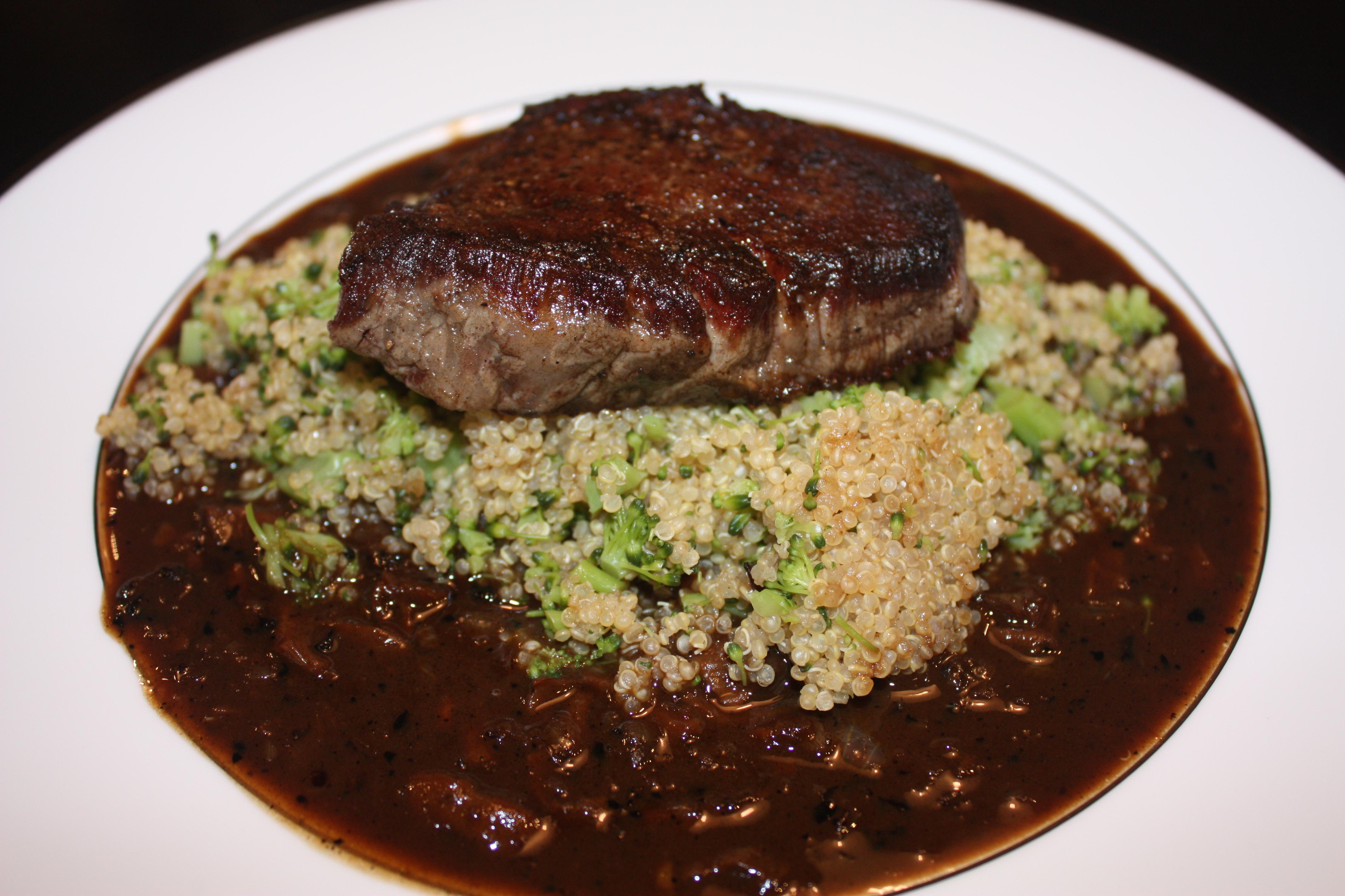Beef Tenderloin With Shallot Sauce Beef Porcini Shallot Sauce