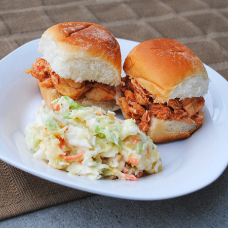 ... Sandwiches and Wraps Slow Cooker Buffalo Chicken Sandwiches (Crockpot