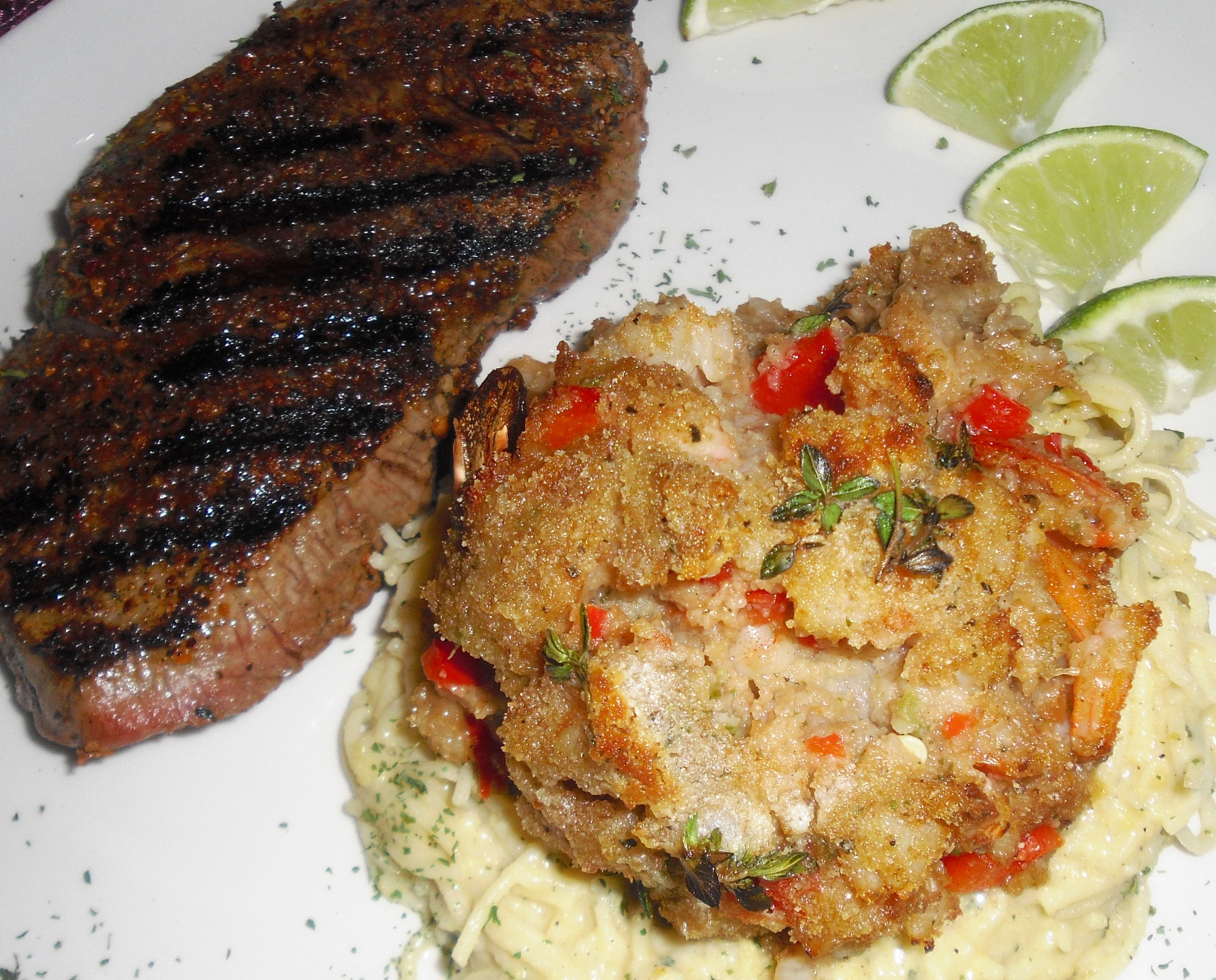 Louisiana Deviled Crab Cakes