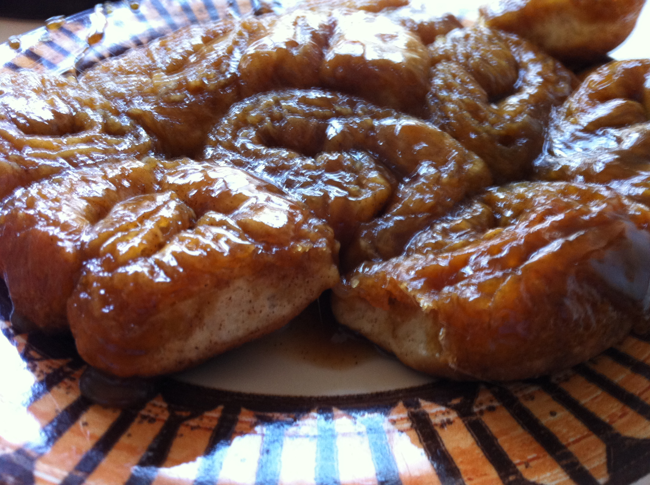 Sticky Buns Using Hot Roll Mix