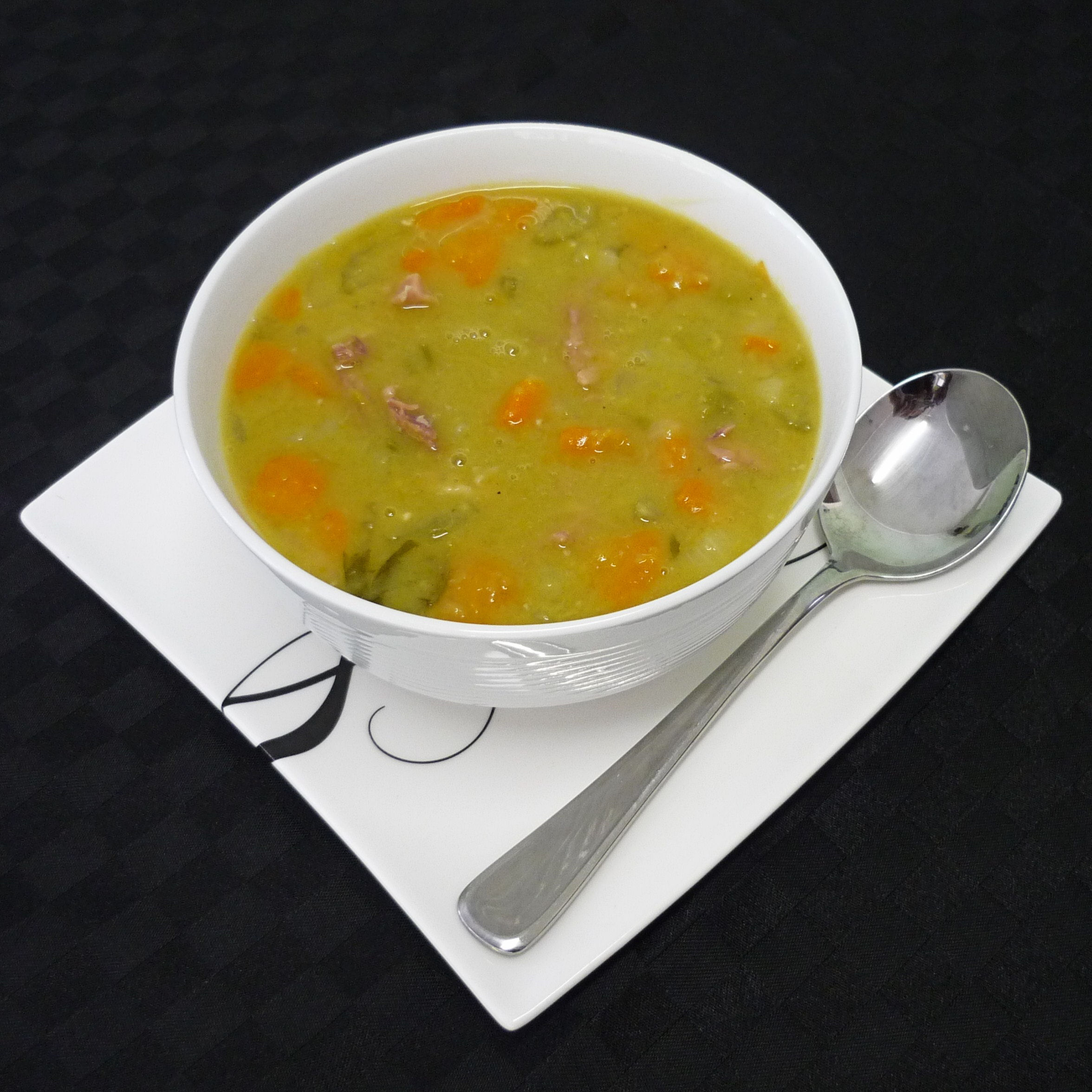 Mom's Split Pea & Ham Soup - BigOven
