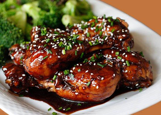 ... drumsticks asian slaw asian meatballs asian glaze chicken source